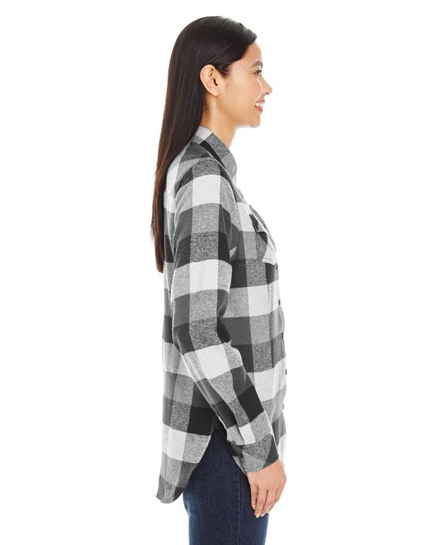 IMPACT LADIES PLAID FLANNEL