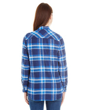 PERMAFROST LADIES PLAID FLANNEL