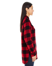 THE LEGENDARY BURNSIDE LADIES PLAID FLANNEL