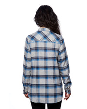 PEAK LADIES PLAID FLANNEL