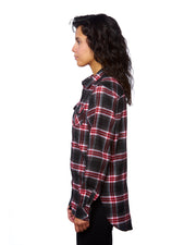 BASECAMP LADIES PLAID FLANNEL