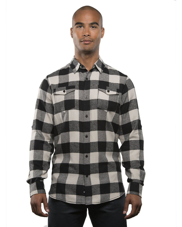 TREAD MENS PLAID FLANNEL