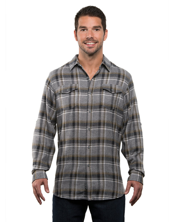 CARTER MENS PLAID FLANNEL