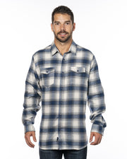 CAMPER MENS PLAID FLANNEL