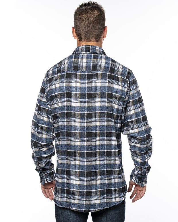 THRESHOLD MENS PLAID FLANNEL
