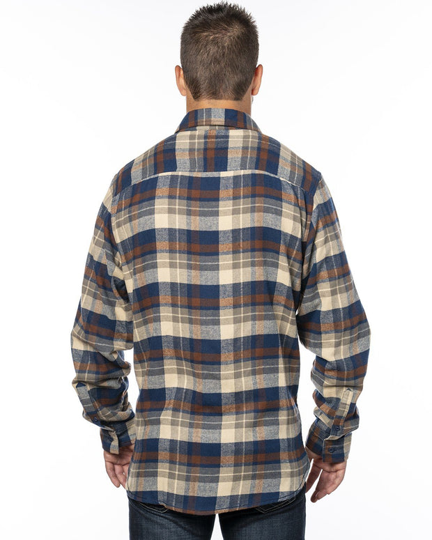 SCOUT MENS PLAID FLANNEL