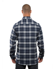 WELDON MENS PLAID FLANNEL