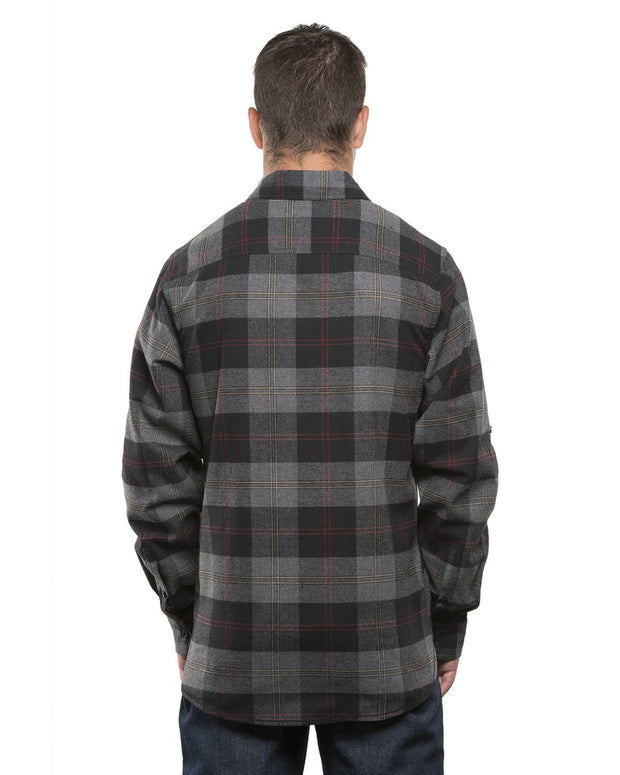 MERCENARY MENS PLAID FLANNEL