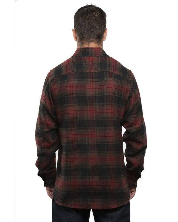 REDSTONE MENS PLAID FLANNEL