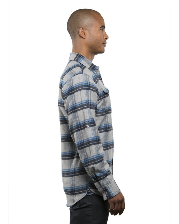 PEAK MENS PLAID FLANNEL