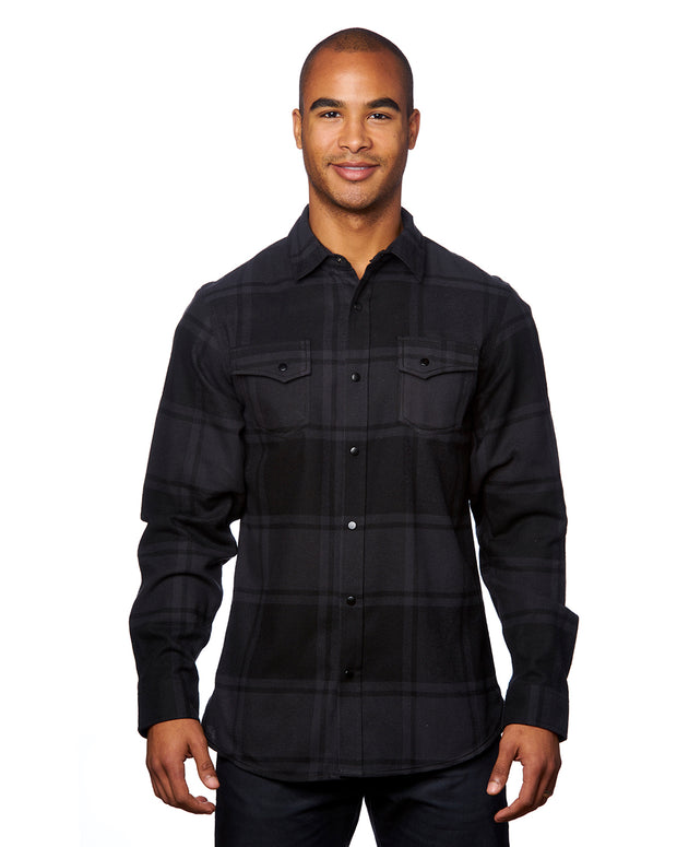 PITCH MENS SNAP FLANNEL
