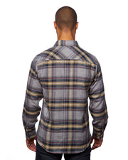 TUNDRA MENS SNAP FLANNEL