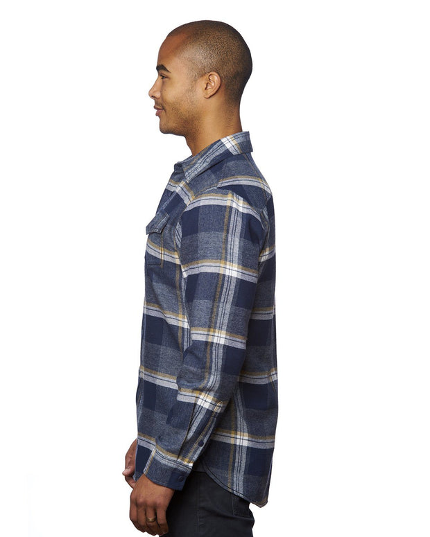 WEST MENS SNAP FLANNEL
