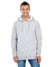 B8609 - Mens Yarn Dyed Hoodies - Heather