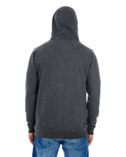 B8609 - Mens Yarn Dyed Hoodies - Charcoal