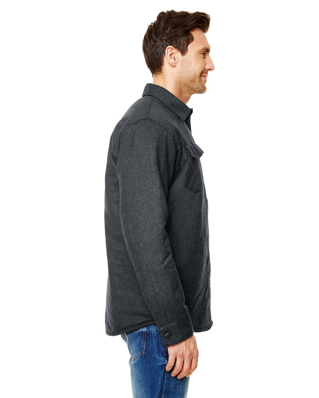 CITADEL MENS QUILTED FLANNEL JACKET
