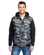 GHOST MENS SLEEVED PUFFER VEST