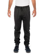 B8801 - Heather Performance Joggers - Black