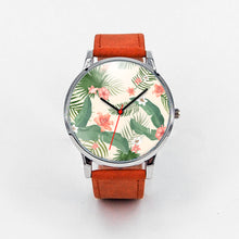 Load image into Gallery viewer, Tropical Flower Watch | Rugged Rose Boutique