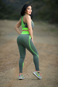 Power Flex Yoga Pant Legging Sportswear | Rugged Rose Boutique