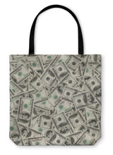 Load image into Gallery viewer, Tote Bag, Dollars | Rugged Rose Boutique