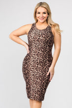 Load image into Gallery viewer, Leopard Casual Dress