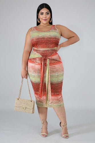 Mars and Jupiter Curvy Two Piece Set | Rugged Rose Boutique