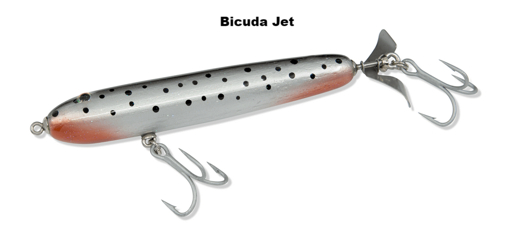 5.5 inch RipRoller fishing lure Bicuda Jet color
