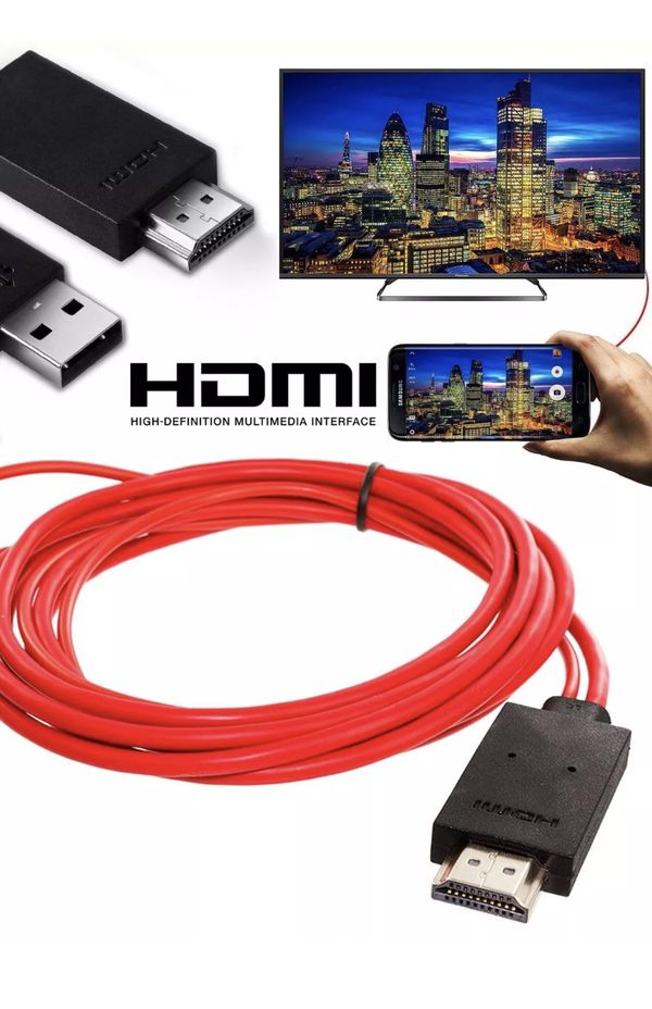 🔥Hot Selling🔥iPhone/Android-to-TV HDMI Cable 3.5m