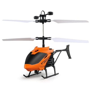 Remote Controller Flying Helicopter Mini Infraed Induction Aircraft Quadcopter with Flashing Light
