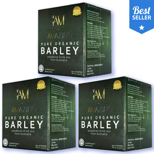 3 Boxes of Amazing Pure Barley from Australia + (100 worth freebie)