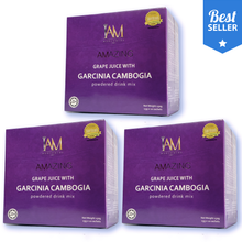 Load image into Gallery viewer, 3 Boxes of Amazing Garcinia Cambogia Slimming Juice + (100 worth freebie)