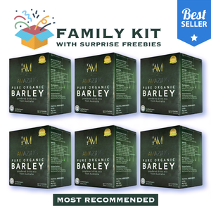6 Boxes of Amazing Pure Barley From Australia + (500 worth freebie)
