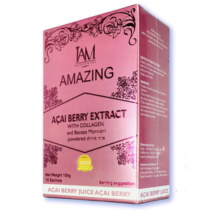 ACAI BERRY WITH COLLAGEN & BACOPA MONNIERI