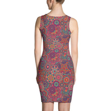 Load image into Gallery viewer, Lula Activewear Mandala Fitted Dress