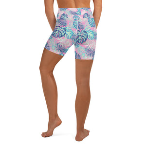 Tropical High Waisted Shorts