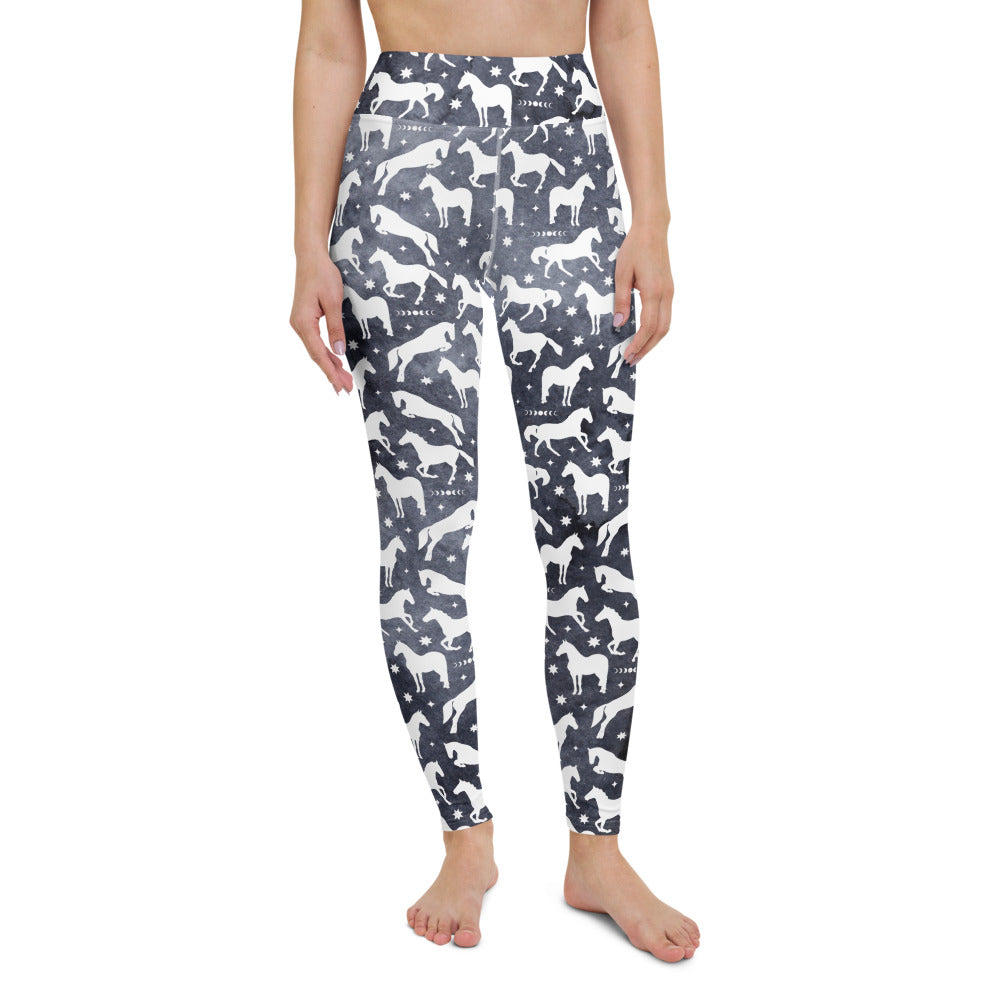 Spirit Horse High Waisted Leggings