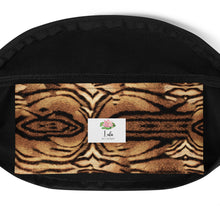 Load image into Gallery viewer, Tiger print fanny pack, belt bag, bum bag, waist bag
