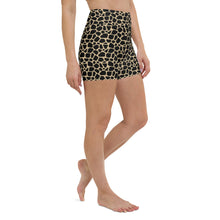Load image into Gallery viewer, Giraffe Print High Waisted Shorts