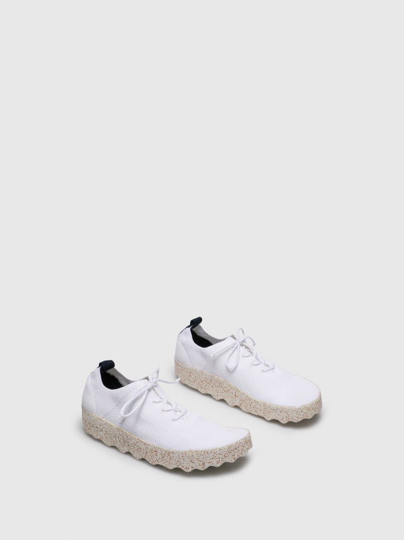 ASPORTUGUESAS White Lace-up Trainers