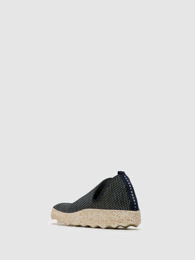 ASPORTUGUESAS DarkBlue Elasticated Sneakers