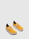 ASPORTUGUESAS Yellow Lace-up Trainers