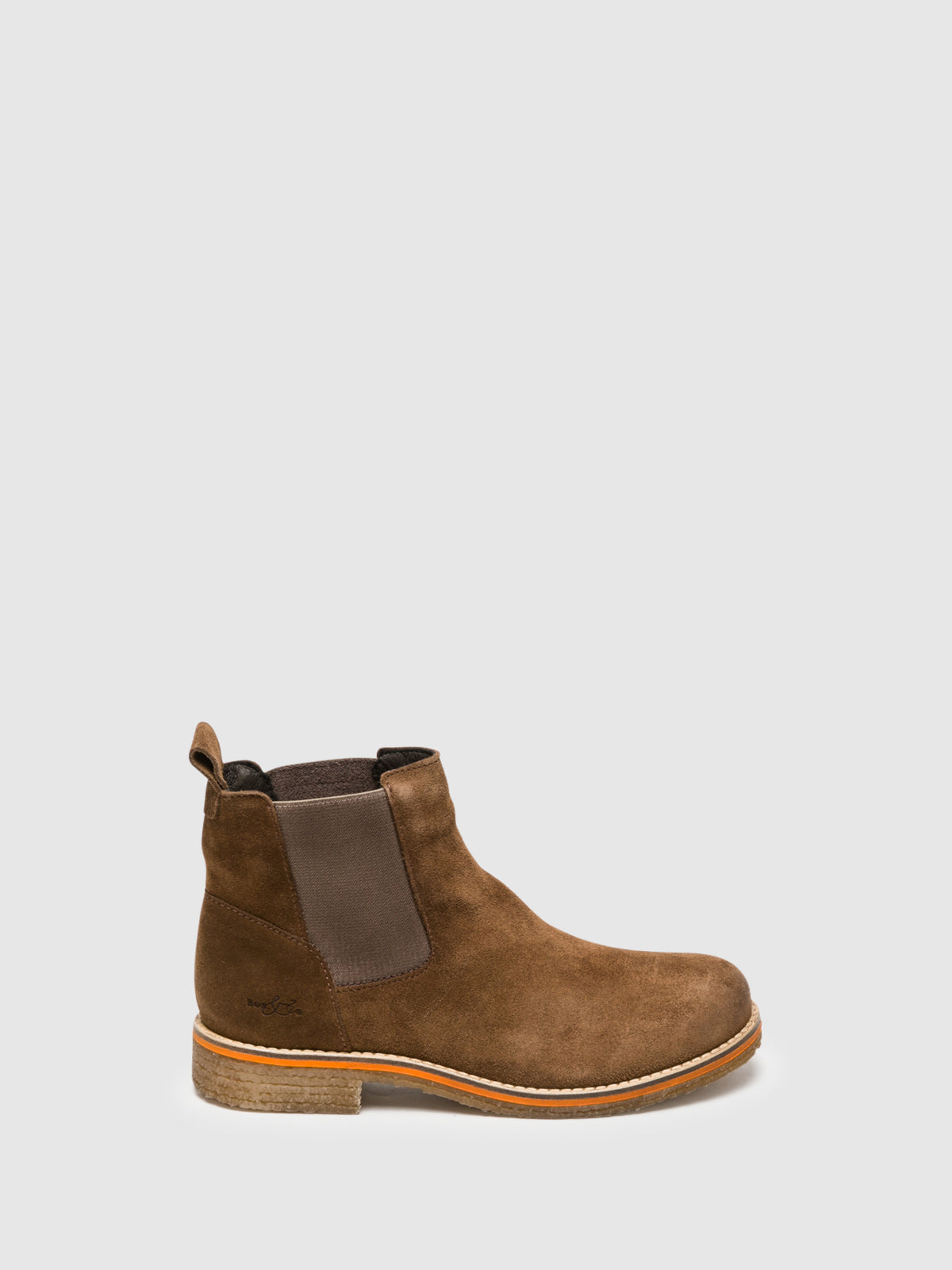 Bos&Co SaddleBrown Chelsea Ankle Boots