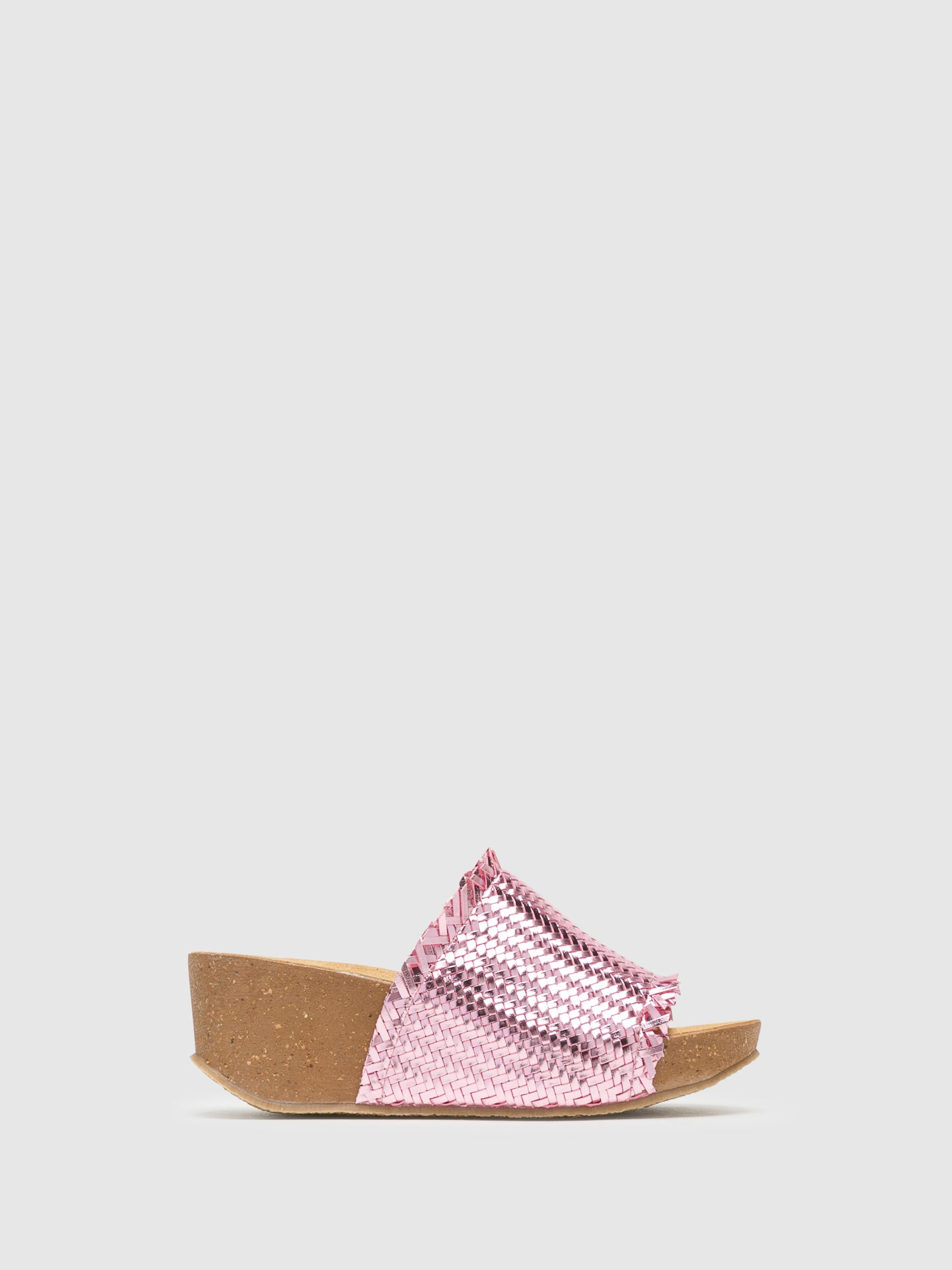 Bos&Co DarkSalmon Wedge Mules