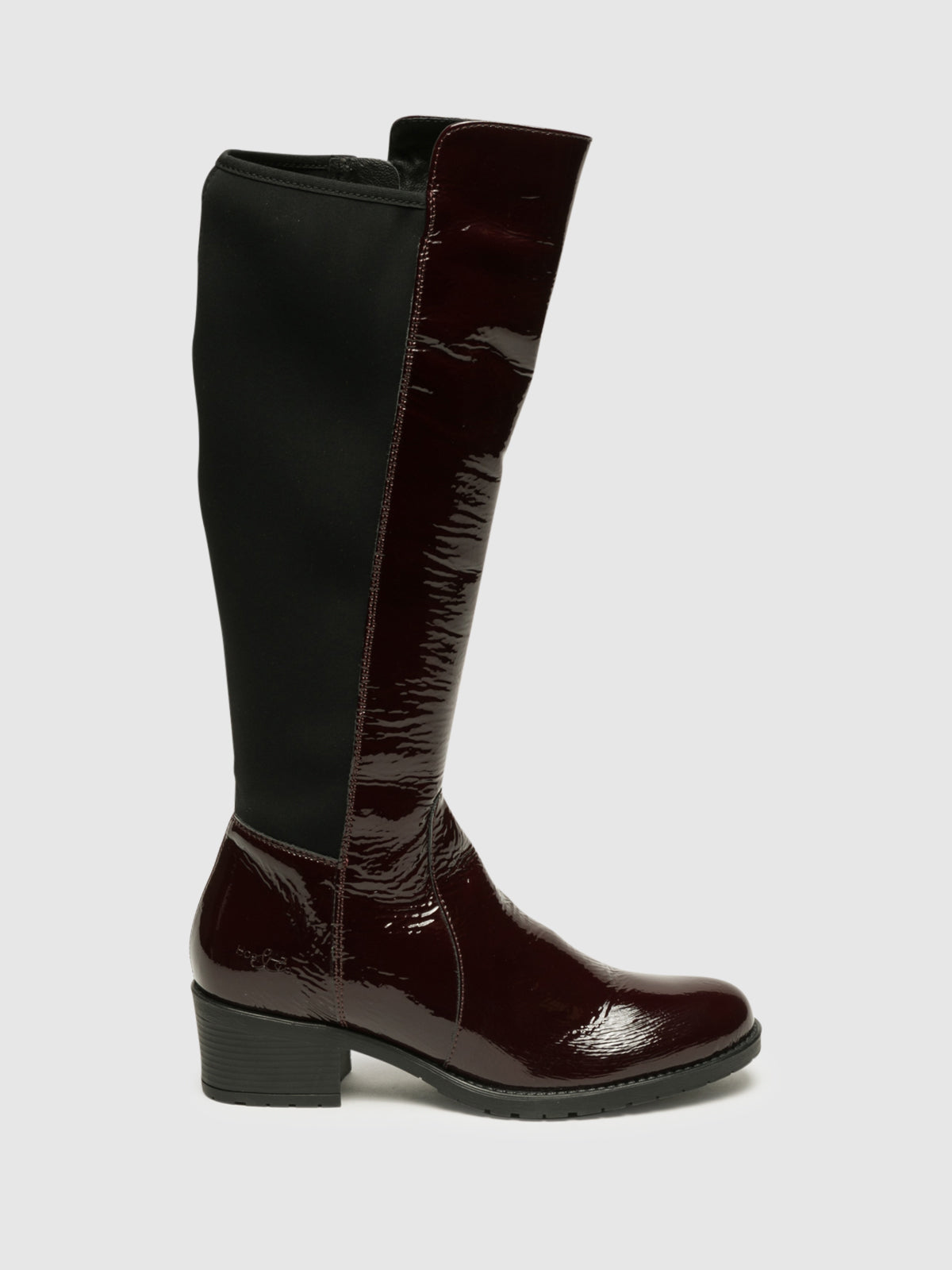 Bos&Co DarkRed Knee-High Boots