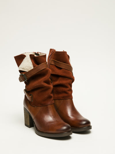 Bos&Co Brown Buckle Boots