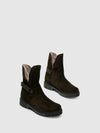 Bos&Co Green Zip Up Boots