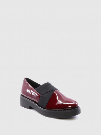 Bos&Co Red Elasticated Shoes