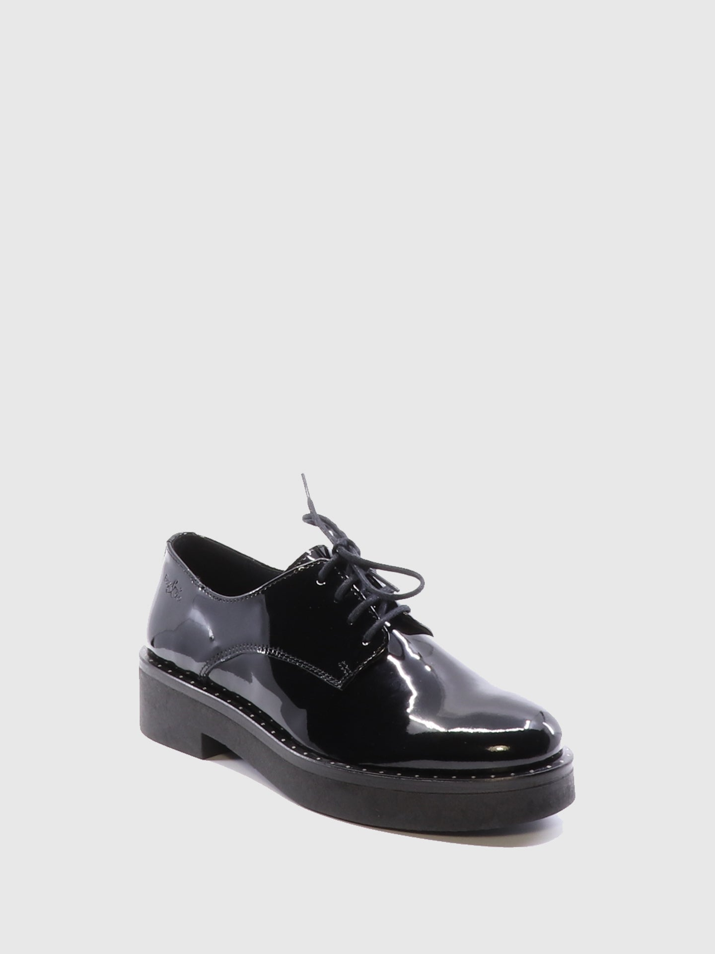 Bos&Co Black Derby Shoes