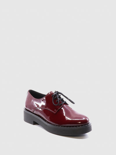 Bos&Co Red Derby Shoes